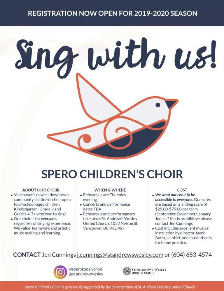 Spero's Children's Choir