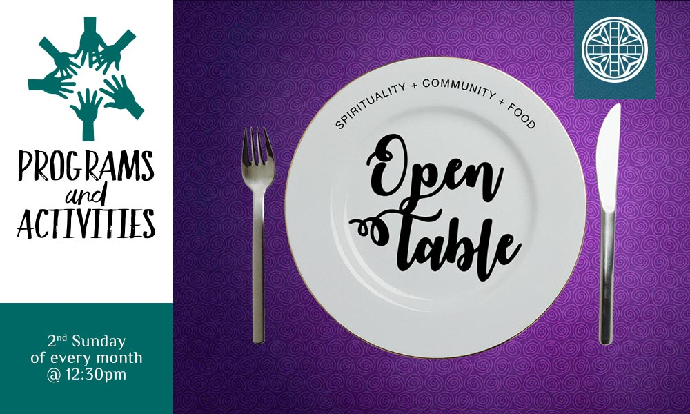 Open Table: Spirituality + Community + Food