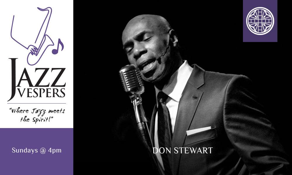 Jazz Vespers Don Stewart